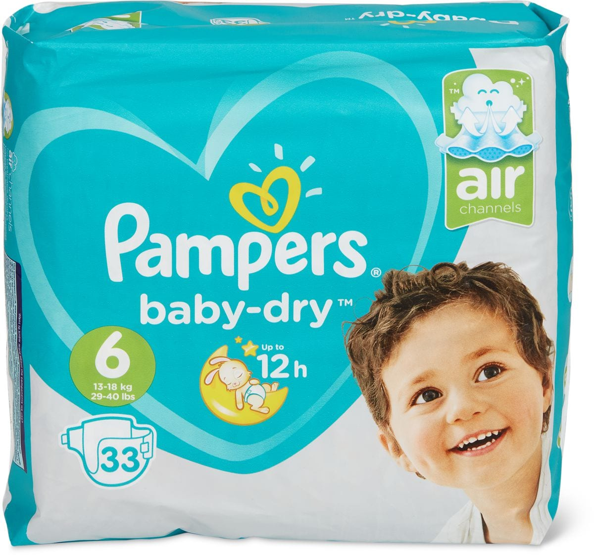 Pampers Baby Dry XL Gr. 6
