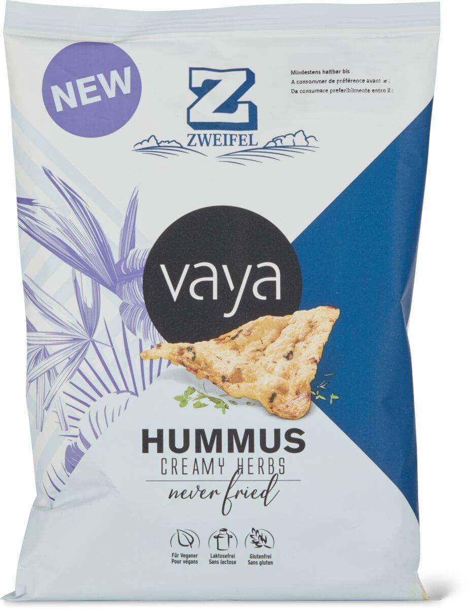 Zweifel Vaya Hummus Snack Creamy Herbs