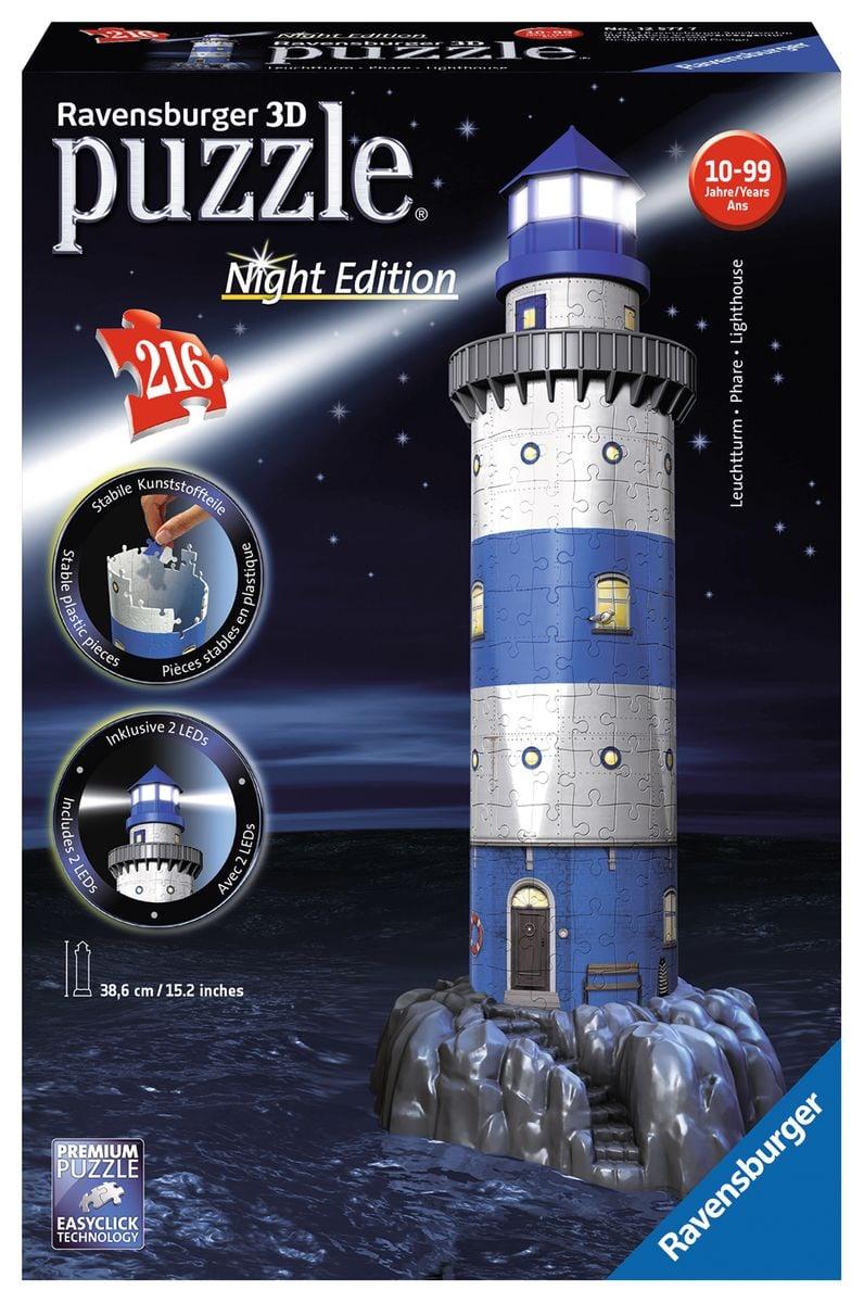 Ravensburger Leuchtturm Bei Nacht Puzzle