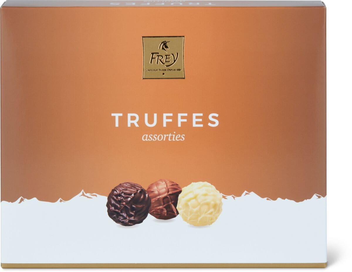 Truffes assorties