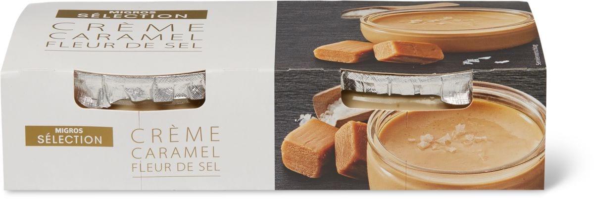 Sélection Crème Caramel Fleur de Sel