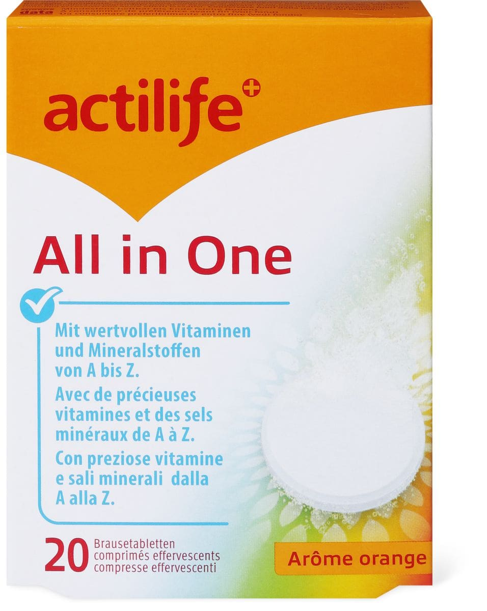 Actilife All in One Orange