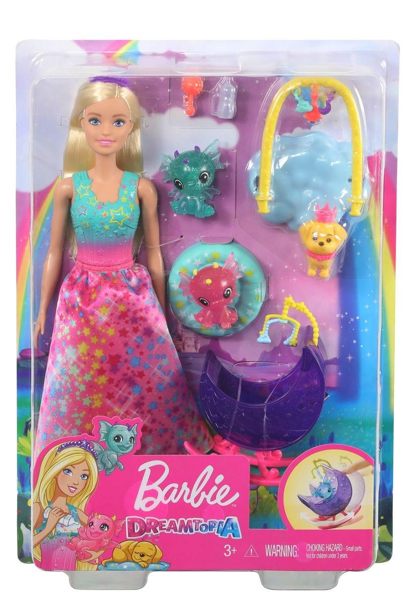 Barbie GJK51 Dreamtopia Honey&Bab Puppenset