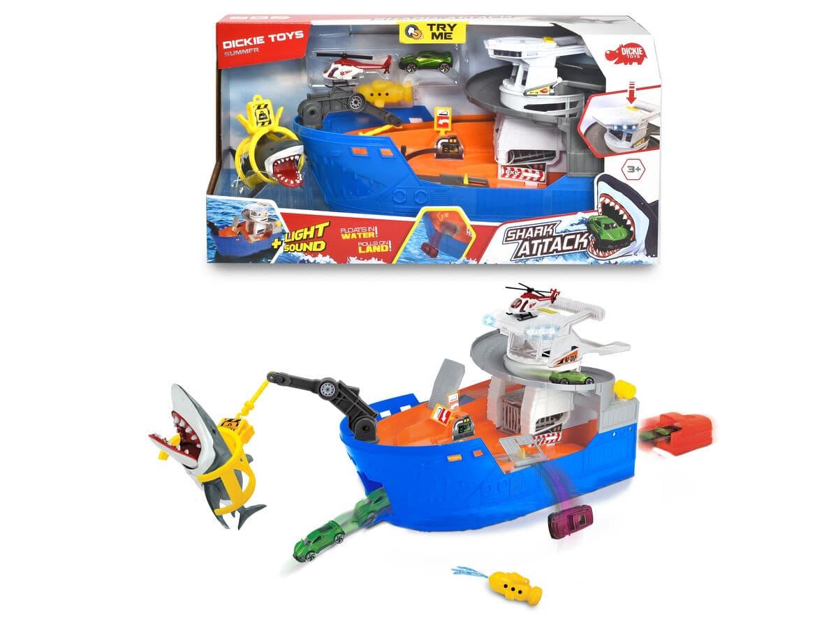 Dickie Toys Shark Ship Playset Wasser-Spielzeug