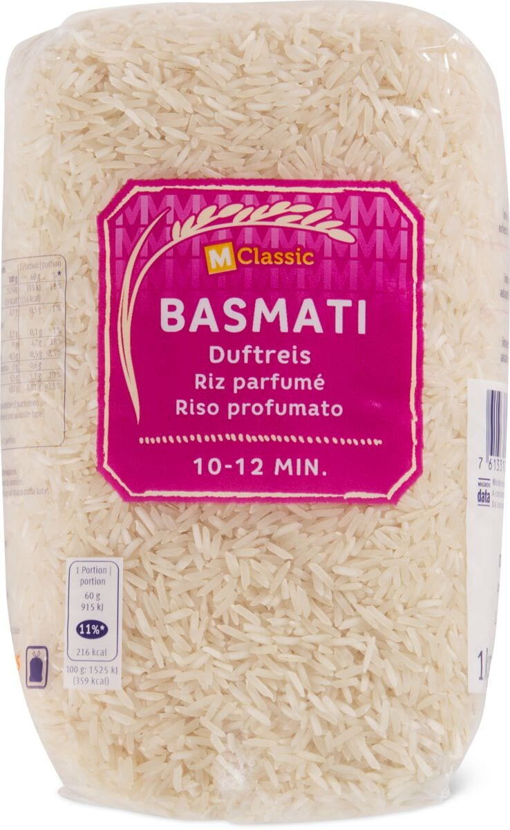 M-Classic Basmati Reis