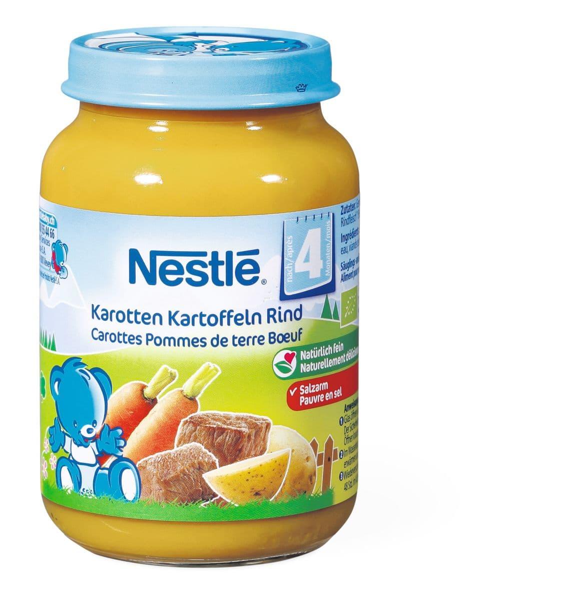 Bio Nestlé Karotten-Kartoffeln-Rindfleisch
