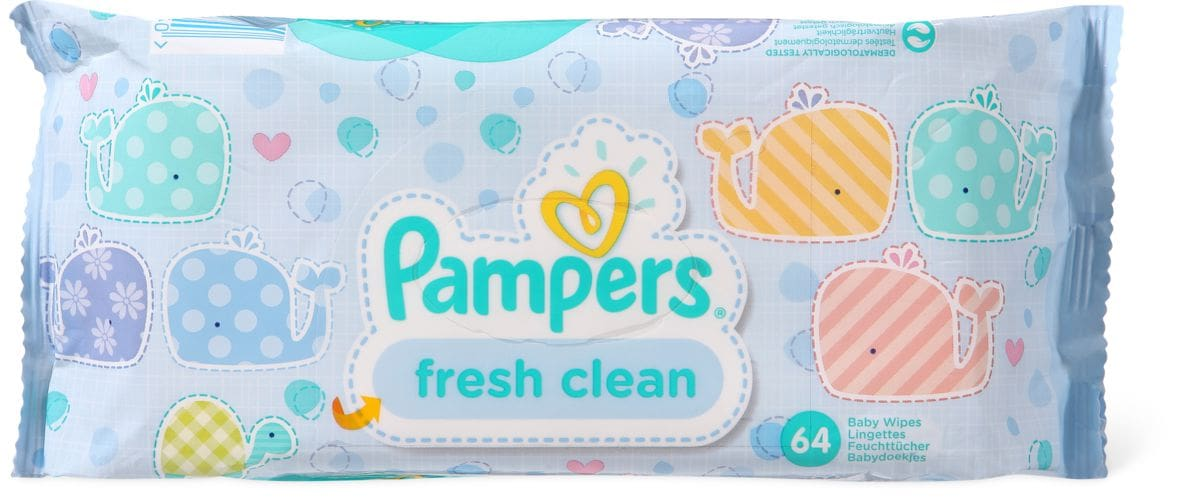 Pampers Babyfresh lingettes