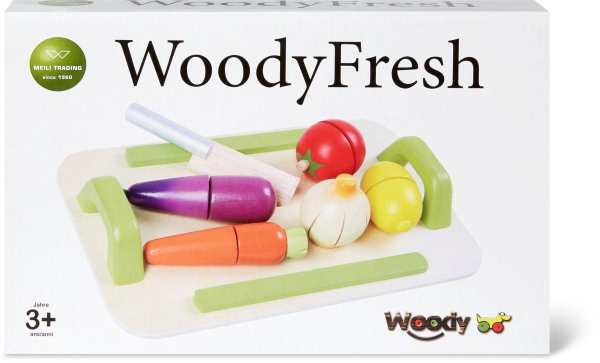 Woody Gemüseset aus Holz  (FSC®) Rollenspiel