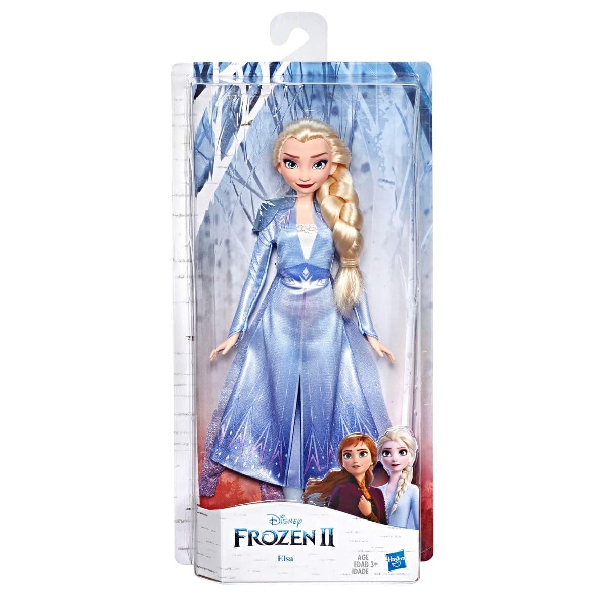 Disney Frozen II Elsa Puppe mit Outfit