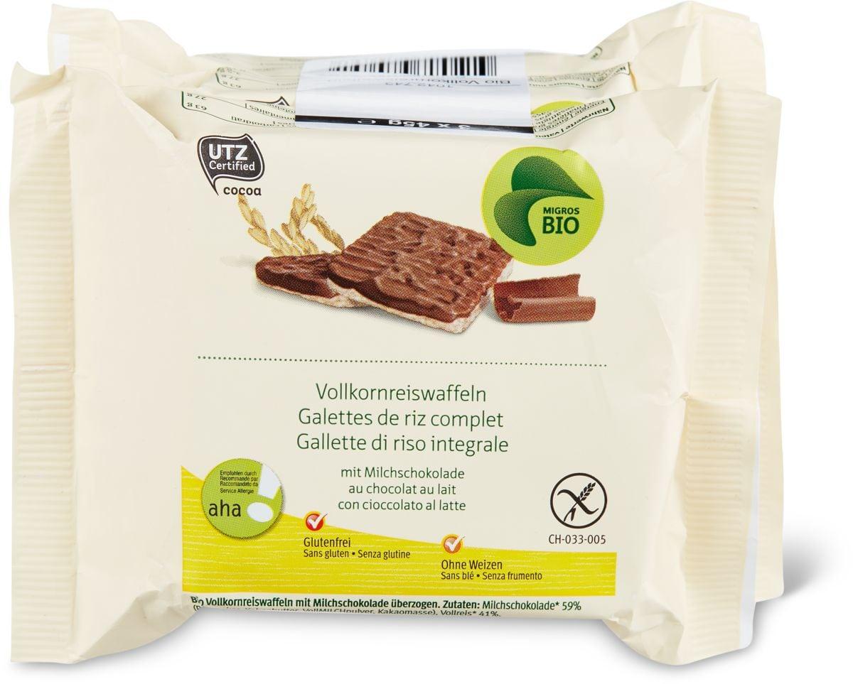 Bio aha! galettes Riz complet chocolat