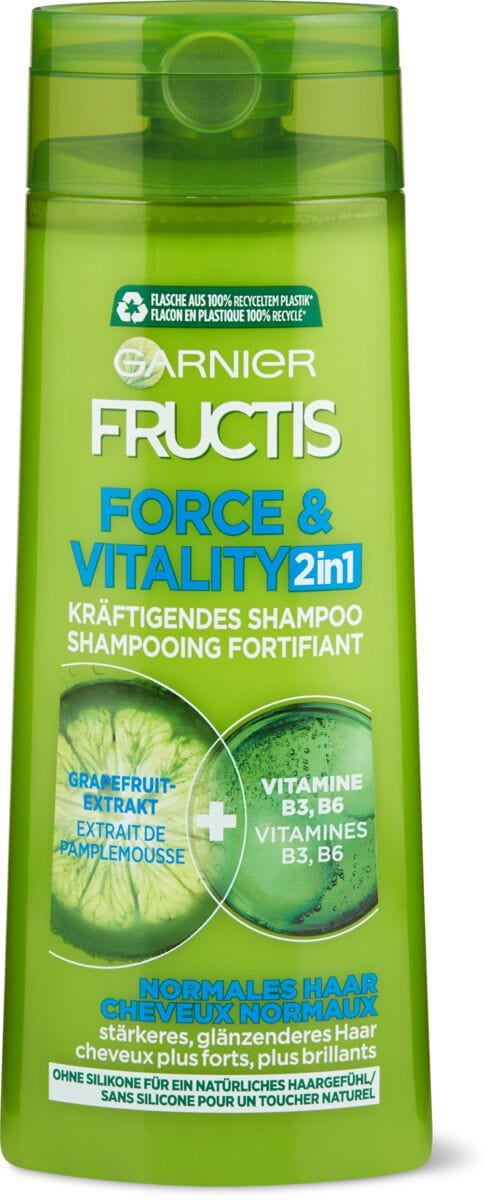 Garnier Fructis Shampooing 2in1 Force & Vitality