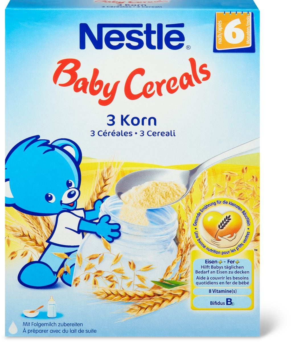 Nestlé Baby Cereals 3 Korn