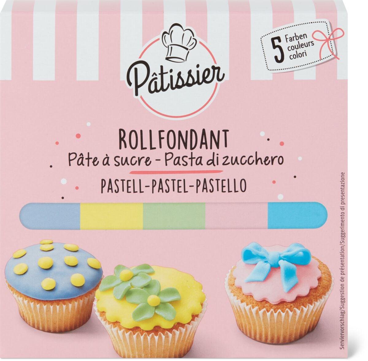 Pâtissier Rollfondant Pastell