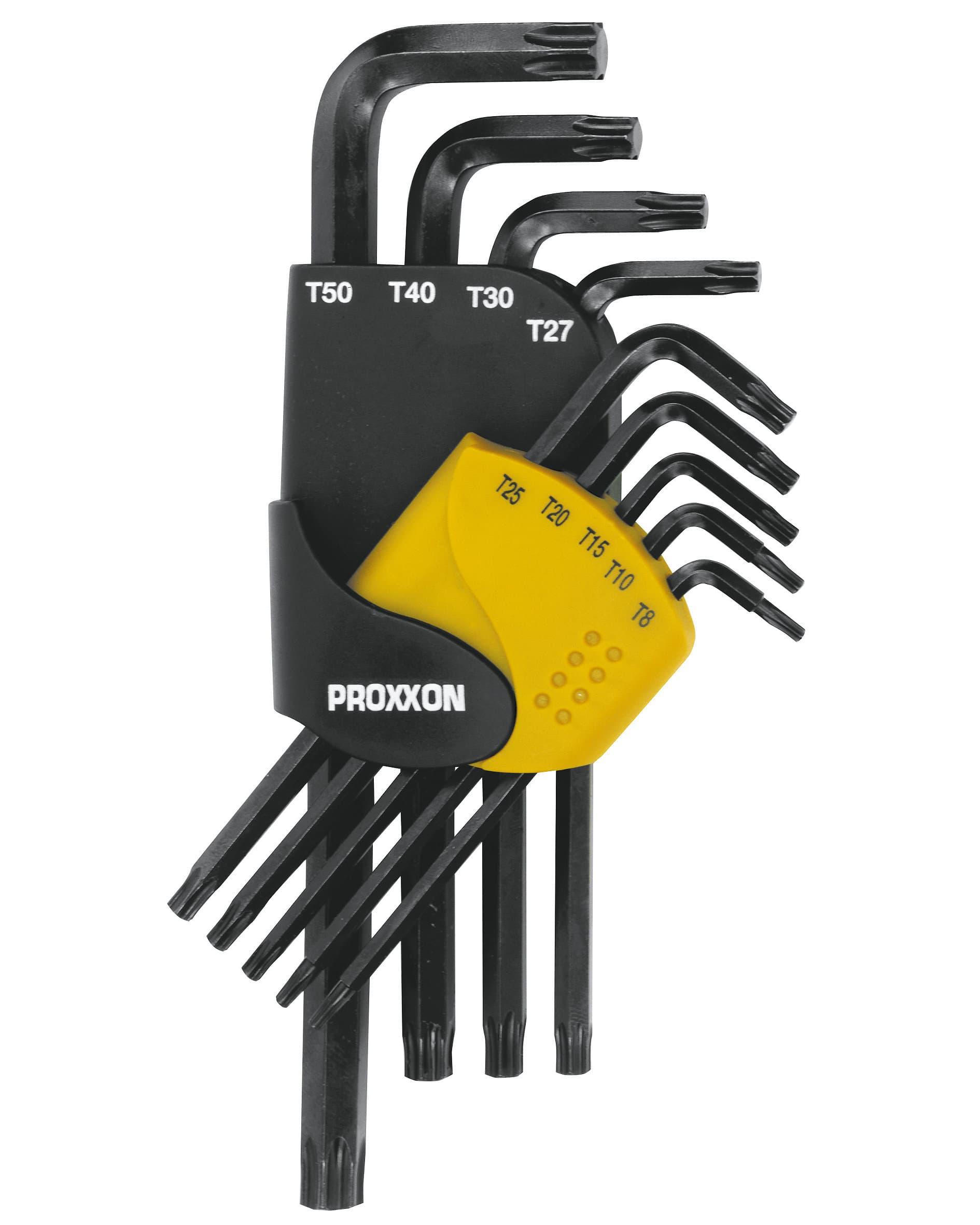 Proxxon Serie 9 chiavi TX