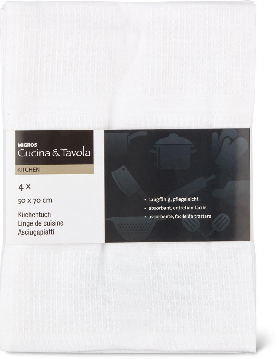 Cucina & Tavola Küchentuch 4er Pack
