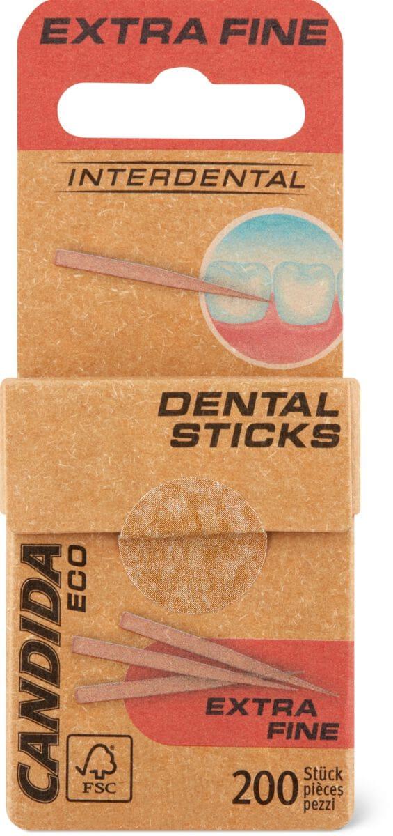 Candida Eco sticks dentaires extra fine