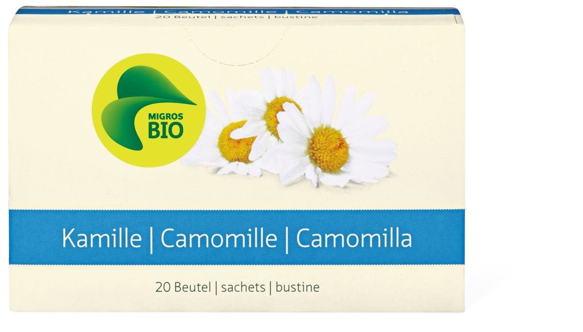 Bio Kamille 20 Beutel
