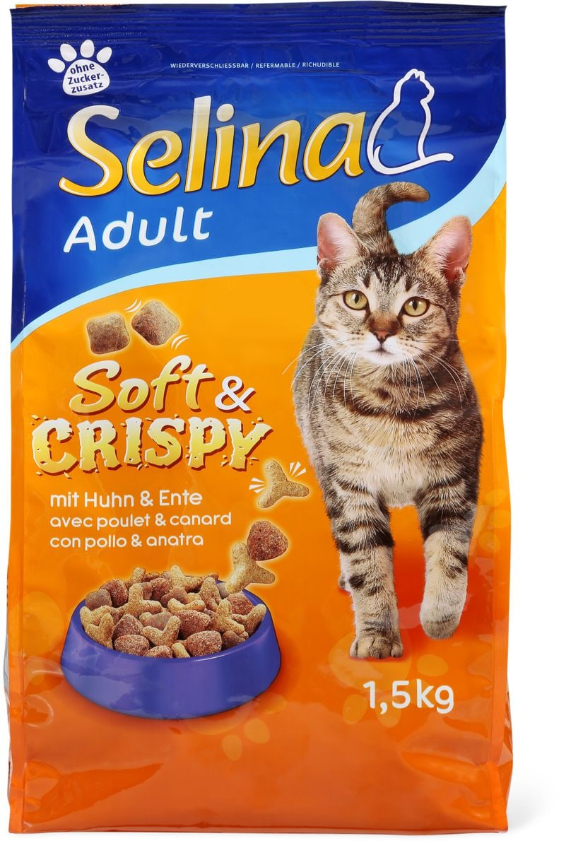 Selina soft&crispy con pollo & anatra