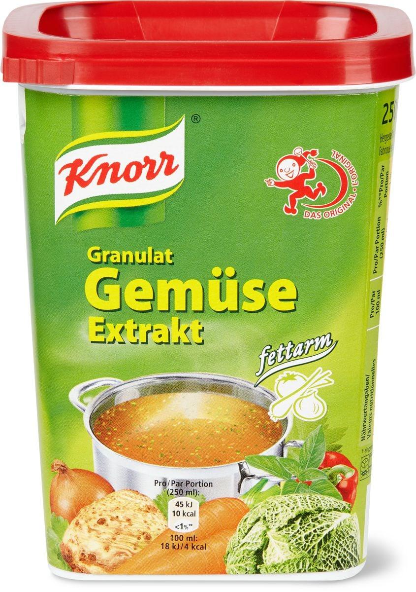 Knorr Fond de légumes sans graisse