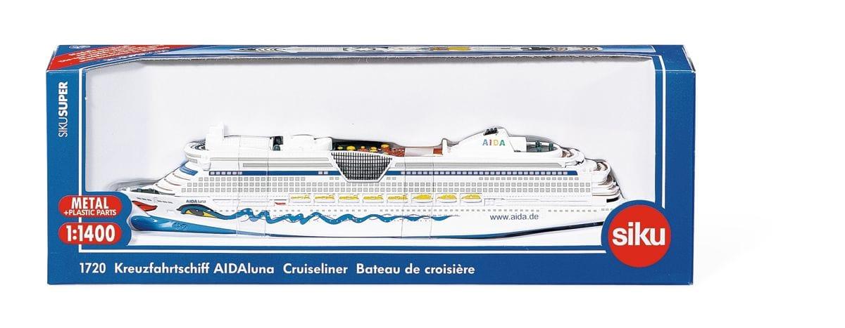 Siku Kreuzfahrtschiff AIDA 1:14000 Modellfahrzeug