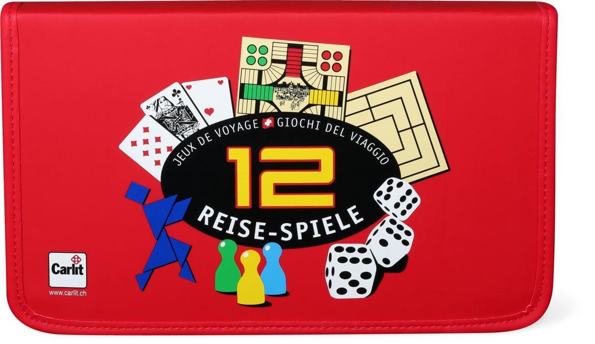 Carlit 12 Reisespiele Gesellschaftsspiel