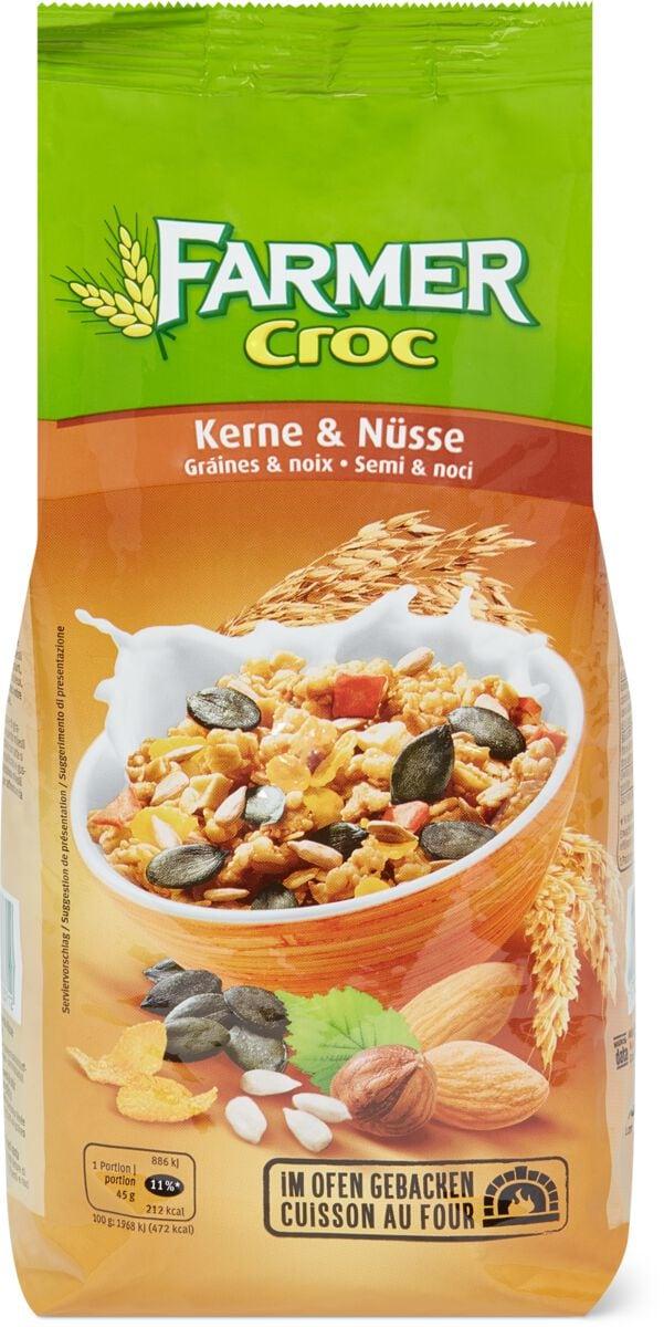 Farmer Croc Kerne & Nüsse
