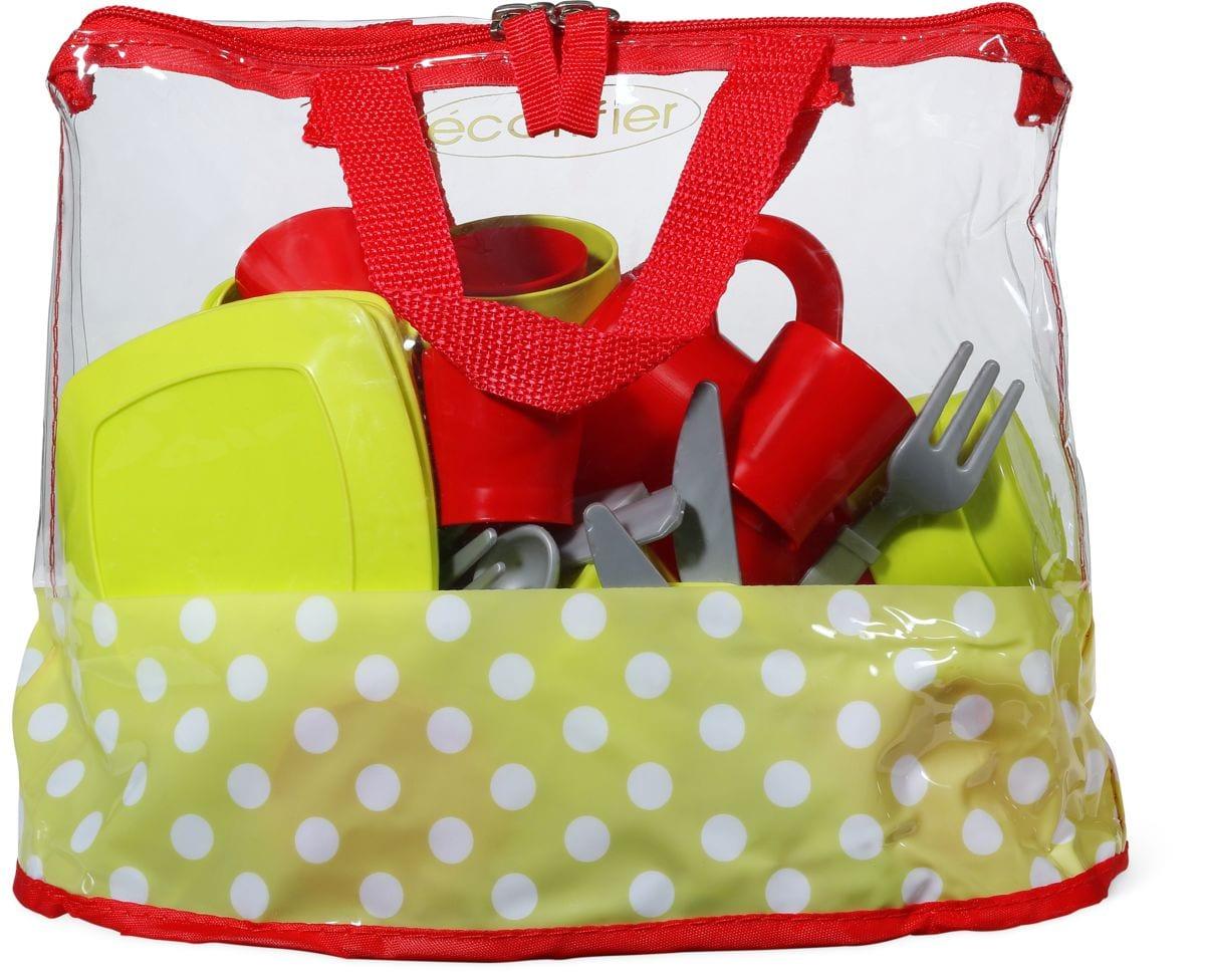 ecoiffier XL Tasche mit Kochutensilien Cool & Cook Rollenspiel