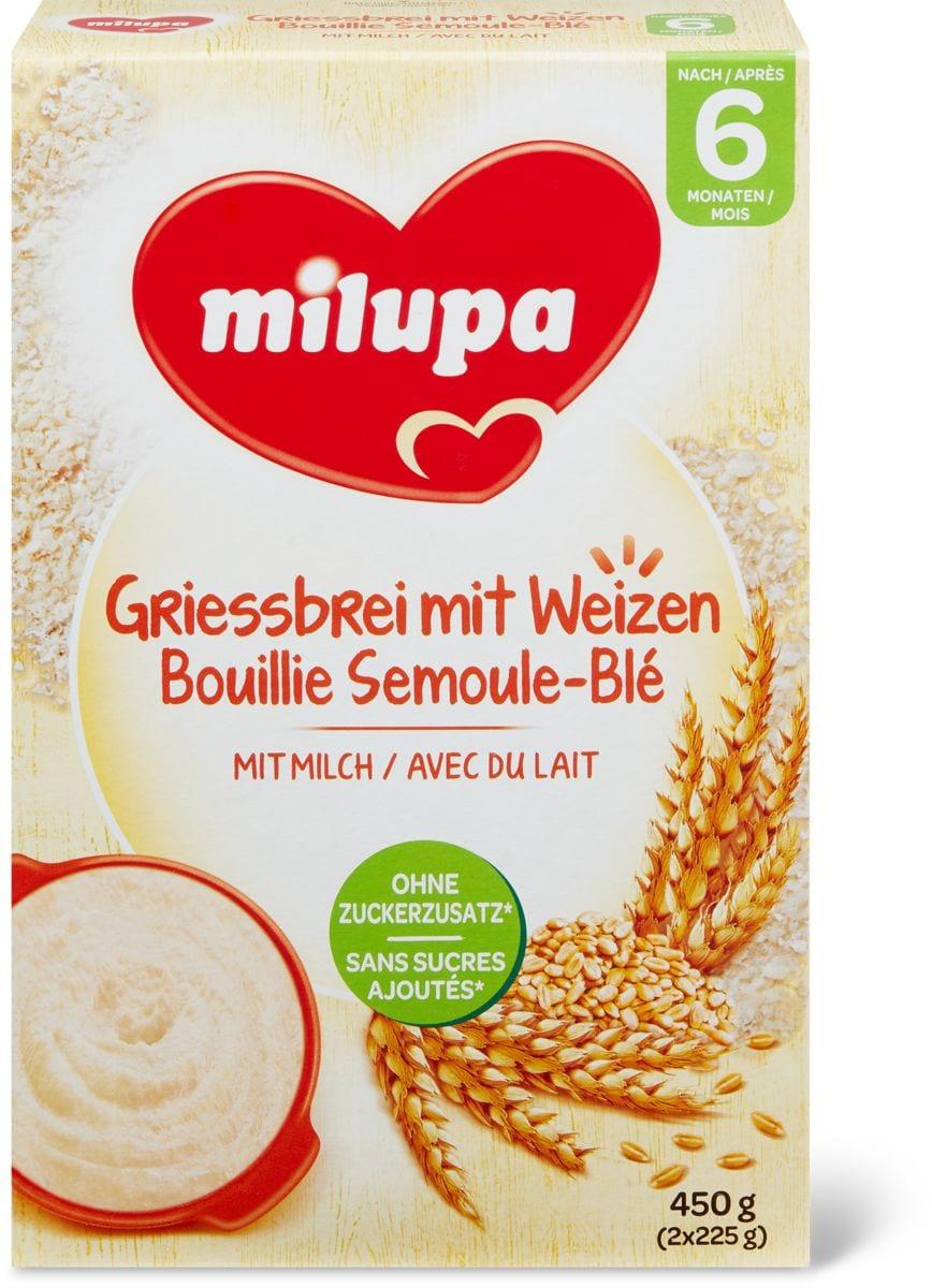Milupa Griess mit Weizen