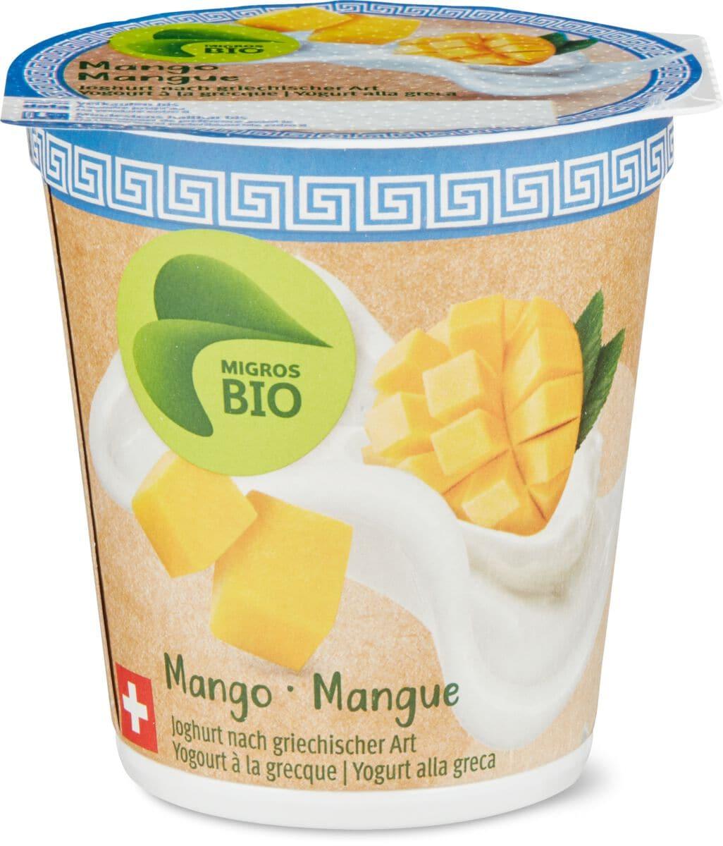 Bio Joghurt Grecque Mango