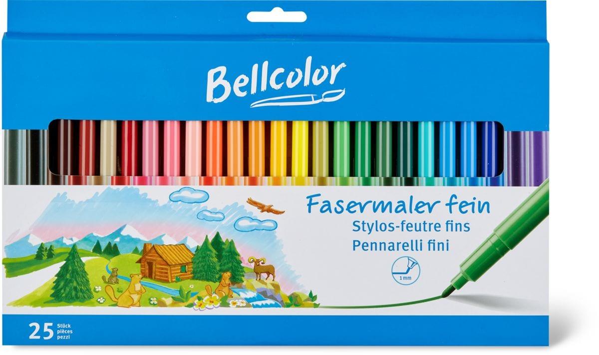 Bellcolor Fasermaler fein