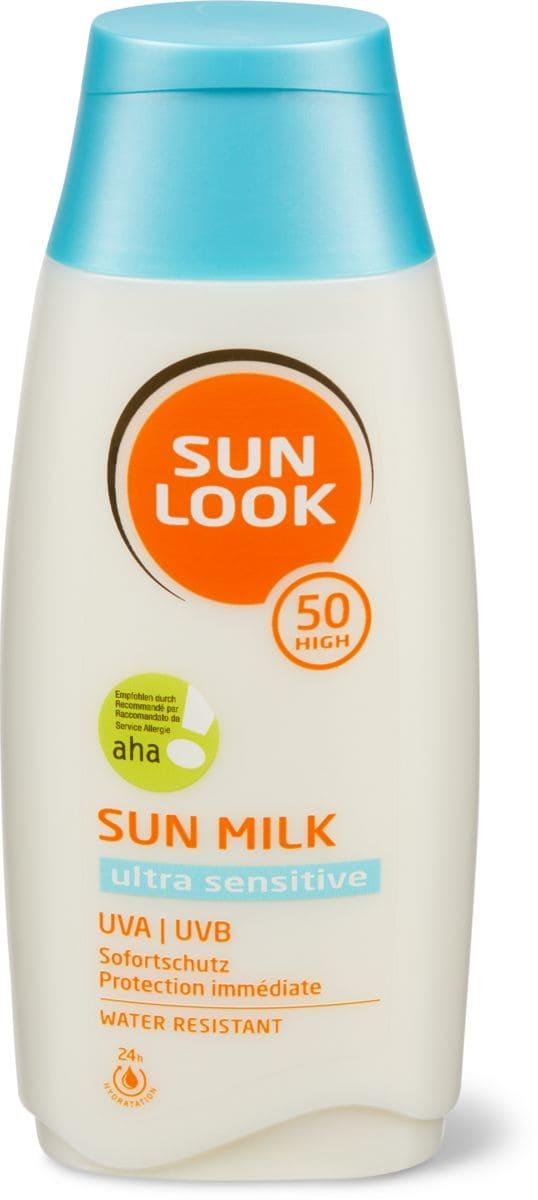 Sun Look Ultra Sens Milk SF50