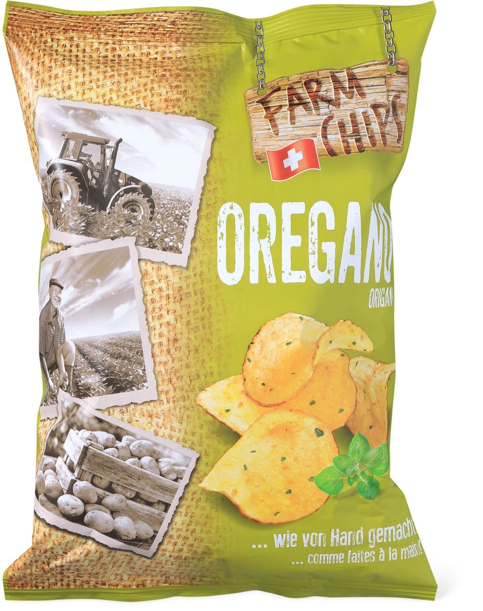 Farm Chips Origano