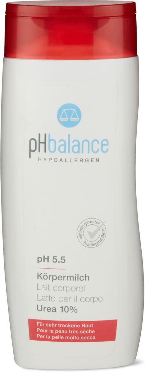 pH balance latte per il corpo