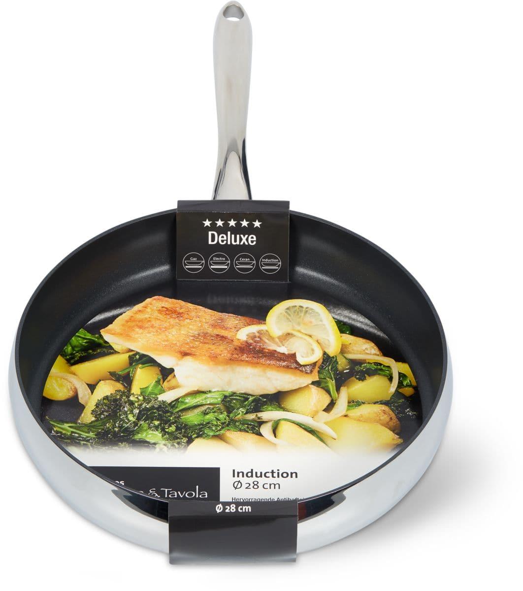Cucina & Tavola DELUXE Bratpfanne 28cm flat