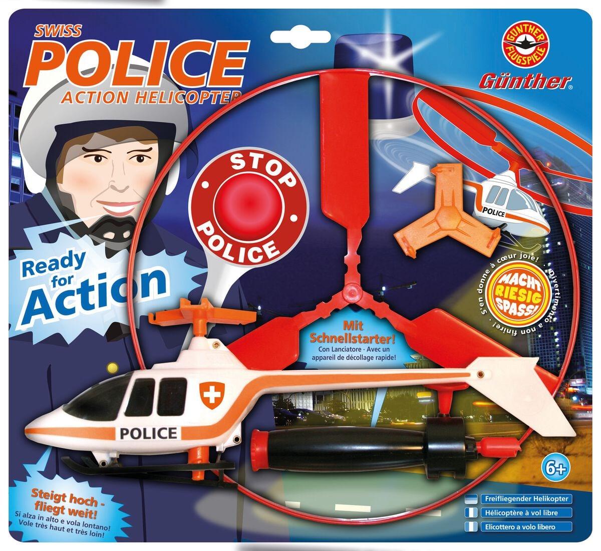 Swiss Police Heli Outdoor-Spielzeug