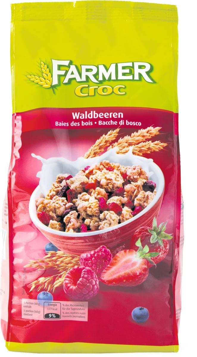 Farmer Croc Waldbeeren Knabbermüesli