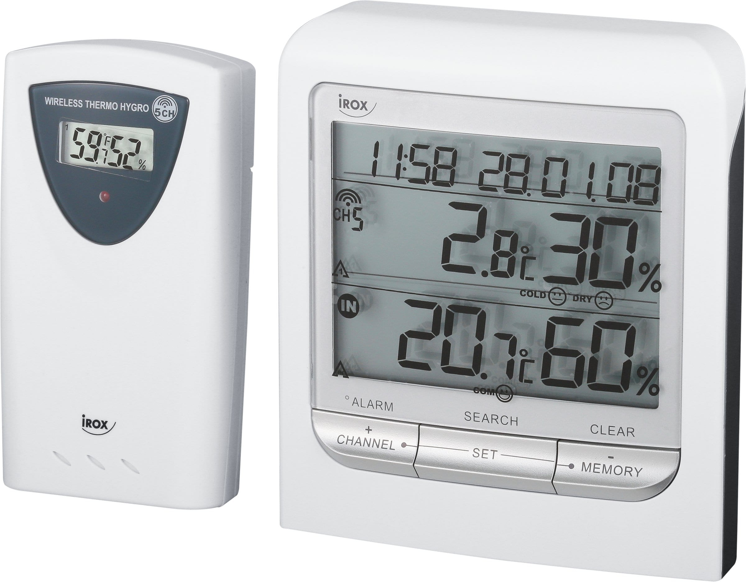 Irox Thermo/hygromètre sans fil HTG79