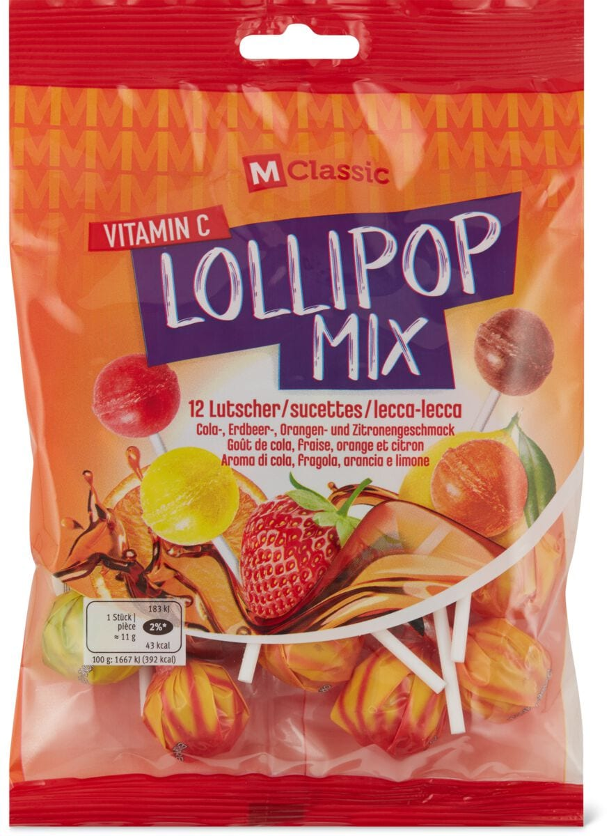 M-Classic Lollipop Mix