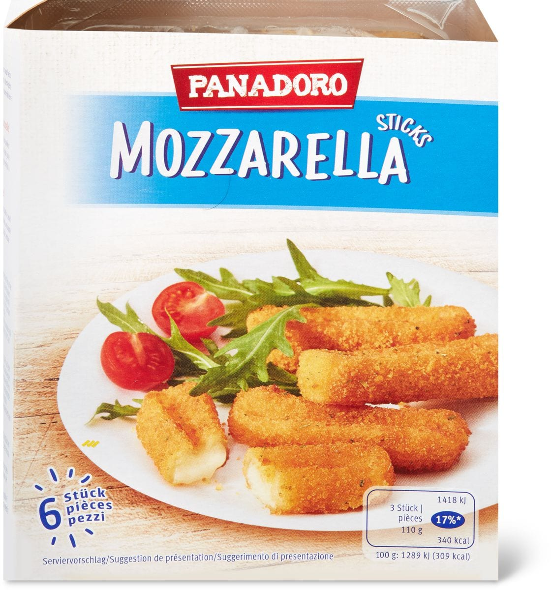 Mozzarella Panadoro sticks
