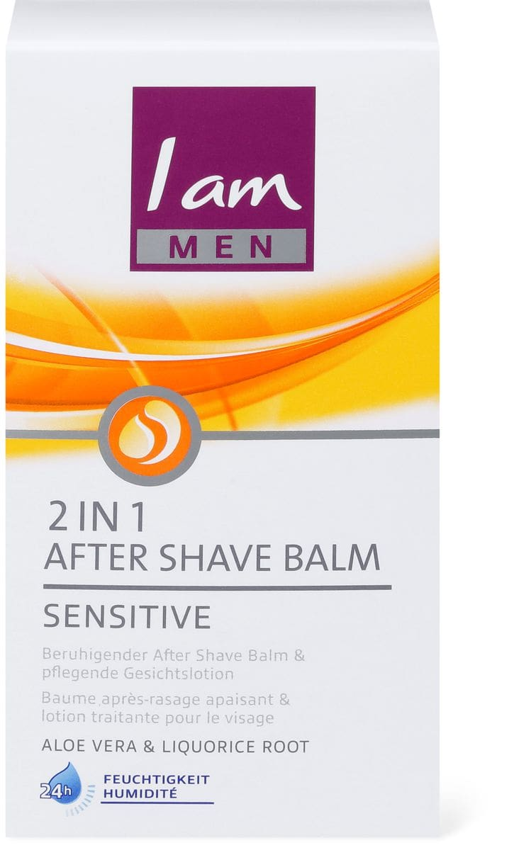 I am men 2 in 1 After Shave Balm Sensitive