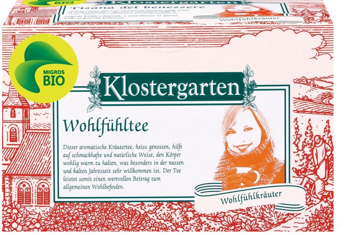 Bio Klostergarten tisana del benessere