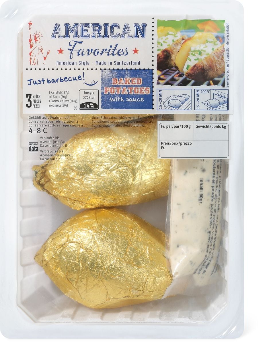 American Favorites Baked Potatoes