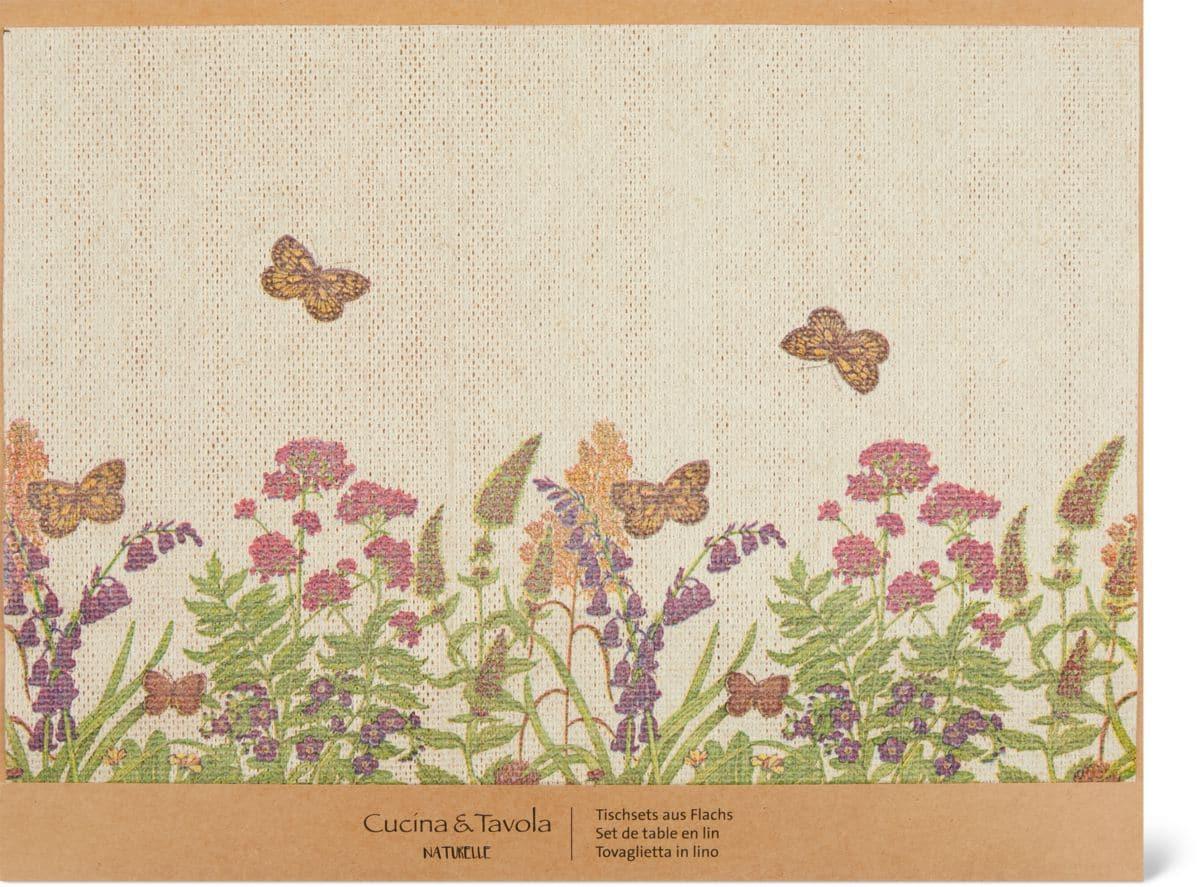 Cucina & Tavola Tovagliette in lino, 30 x 40 cm
