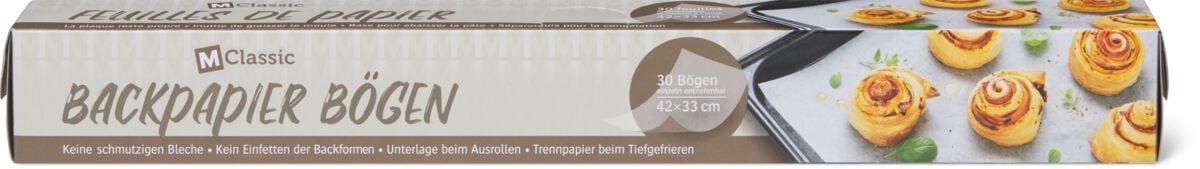 M-Classic Backpapier Bögen