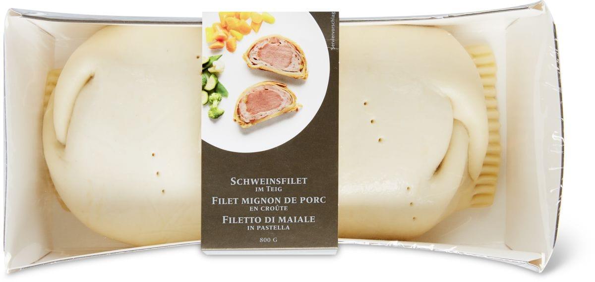 Schweinsfilet im Teig und Morchelterrine im Duo-Pack sowie Festtagspastete