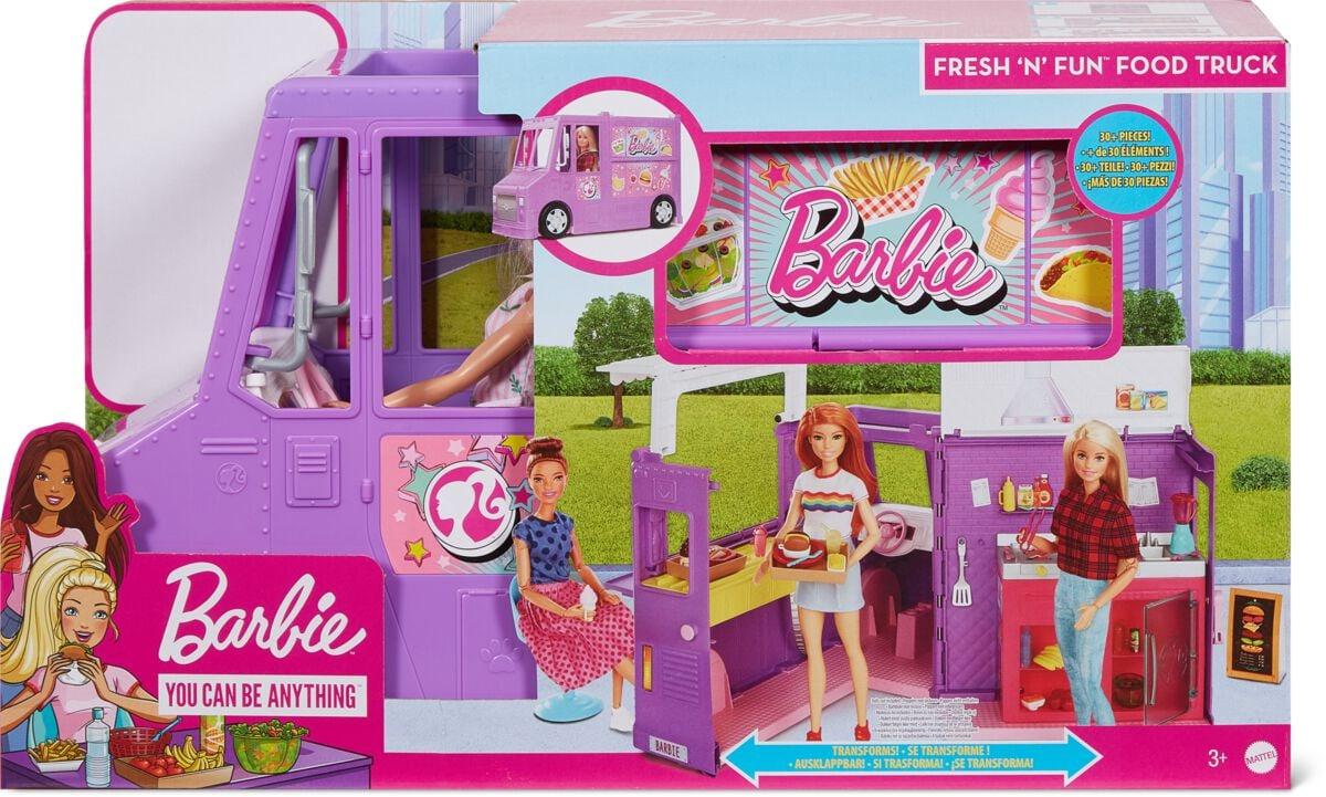 Barbie Food Truck Spielset (ohne Puppe) Puppenset