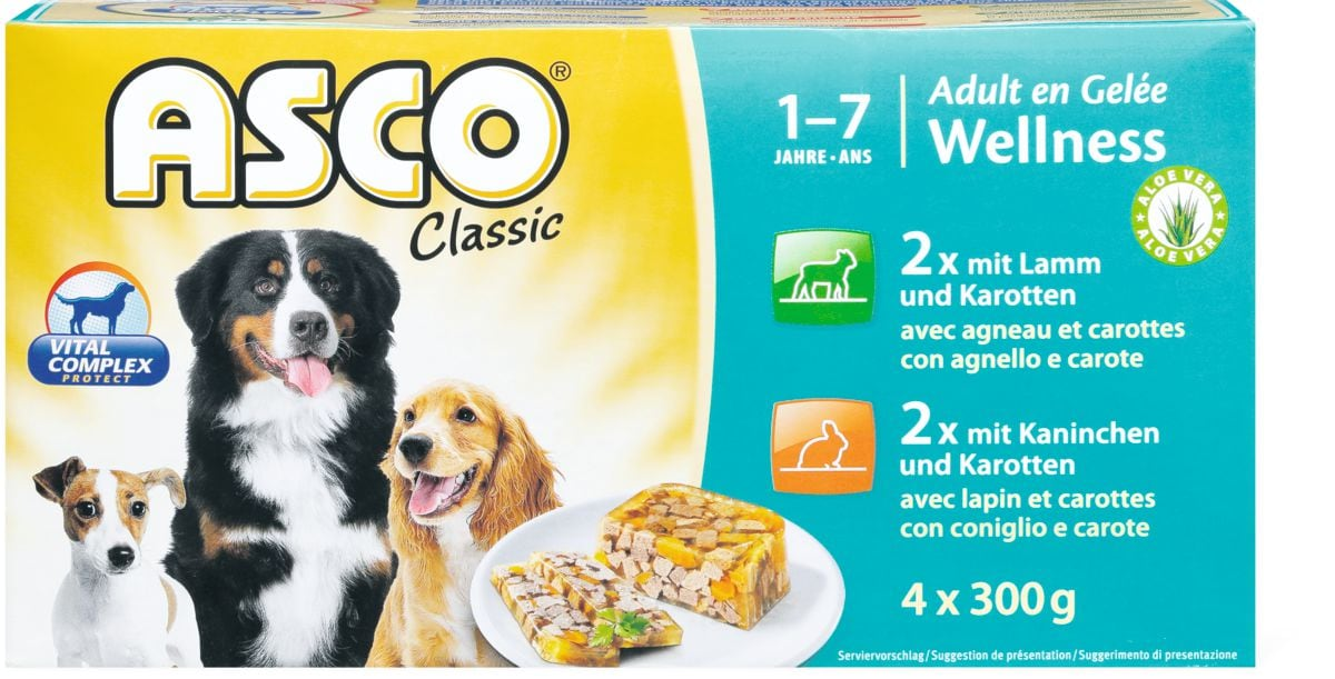 Asco Jelly Wellness mit Lamm & Kaninchen