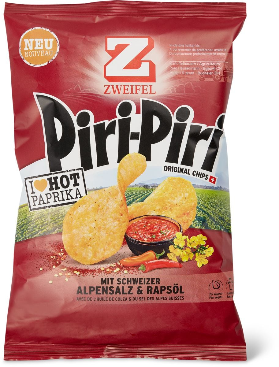 Zweifel Chips Piri-Piri