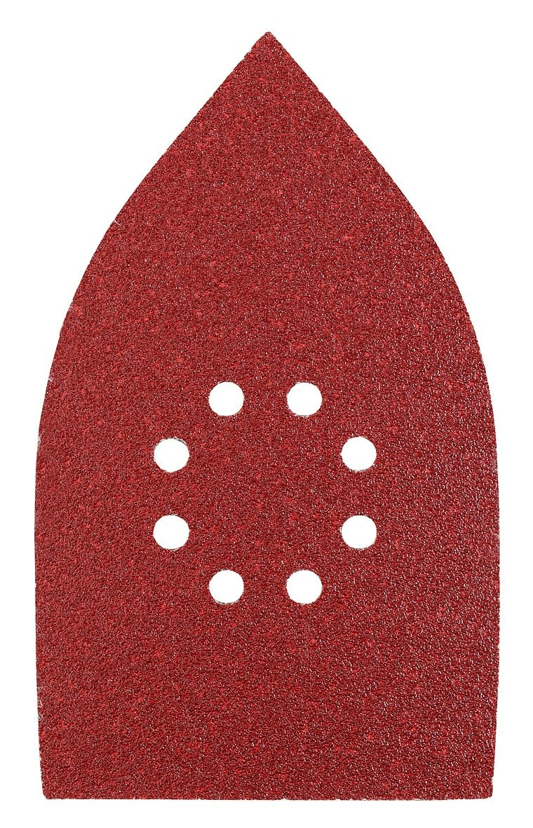 kwb Set des patins abrasifs triangulaires, 107 x 175 mm
