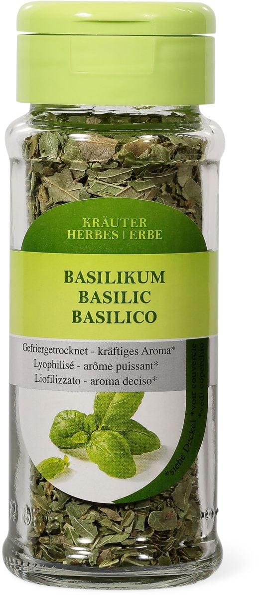 Basilic lyophilisé
